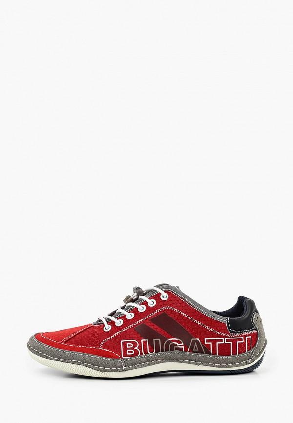 мужские кроссовки bugatti, красные