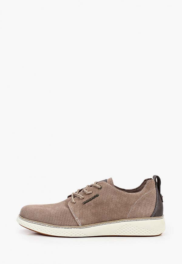 мужские ботинки bugatti, бежевые