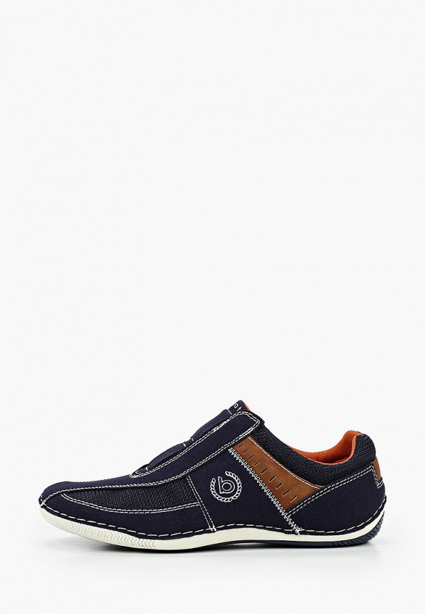 мужские кроссовки bugatti, синие