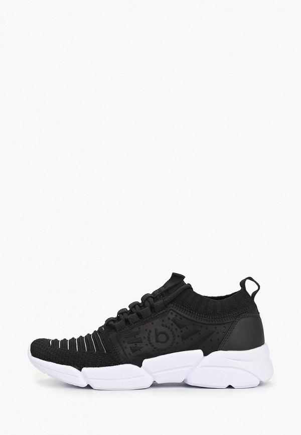 женские кроссовки bugatti, черные