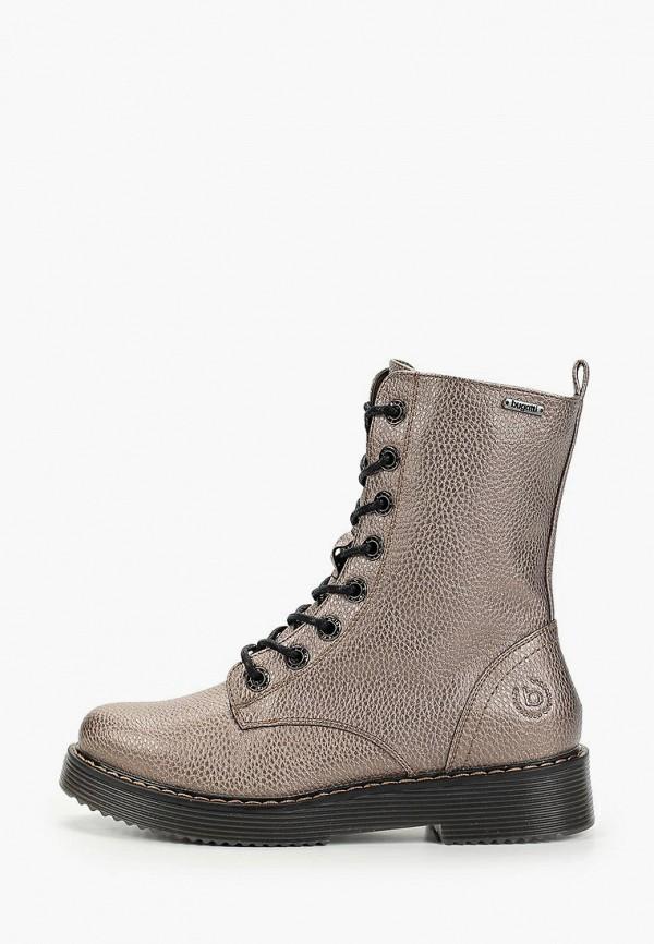 женские ботинки bugatti, коричневые