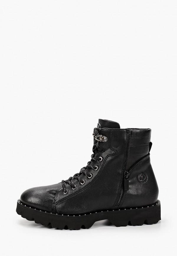 женские ботинки bugatti, черные