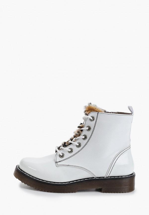 женские ботинки bugatti, белые