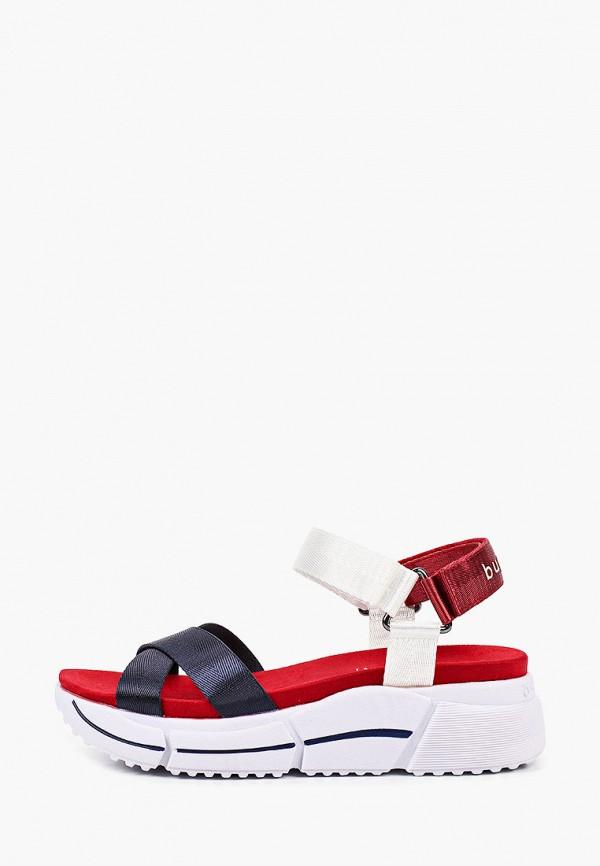 женские сандалии bugatti, разноцветные