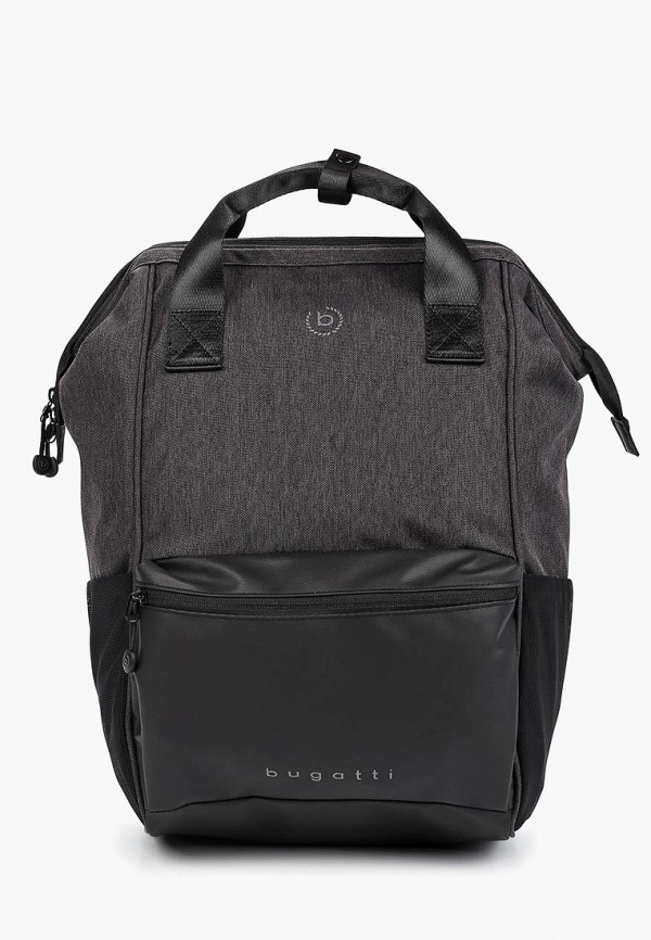 мужской рюкзак bugatti, черный
