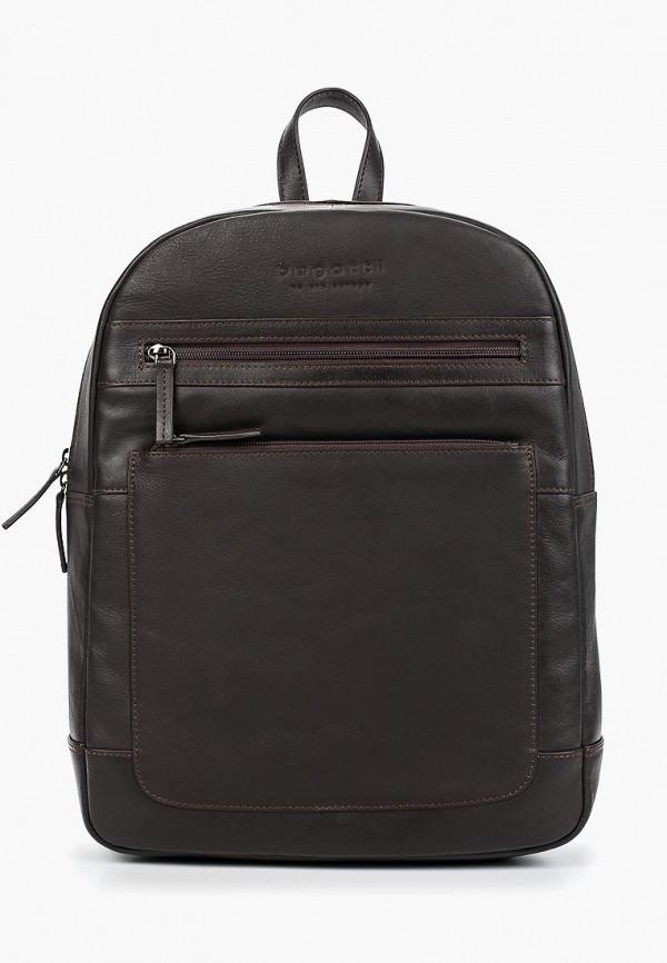 мужской рюкзак bugatti, коричневый