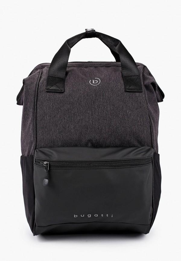 Фото - мужской рюкзак Bugatti черного цвета