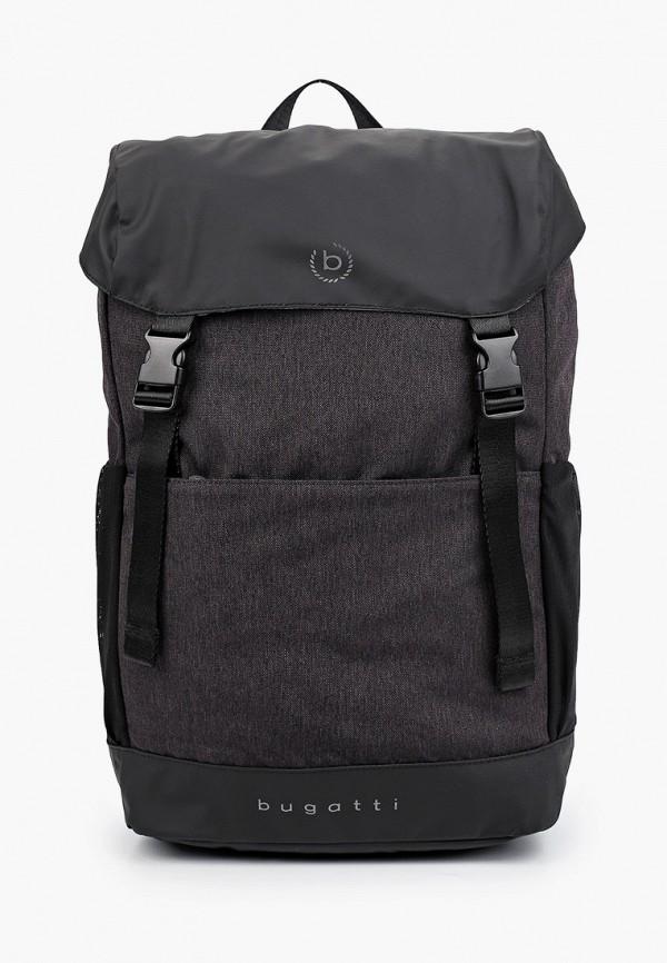 мужской рюкзак bugatti, серый