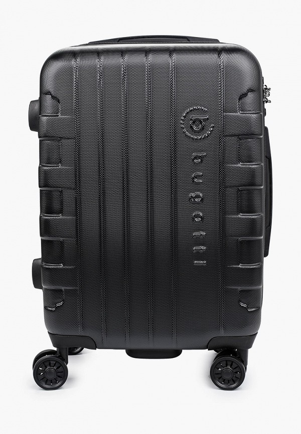 женский чемодан bugatti, черный