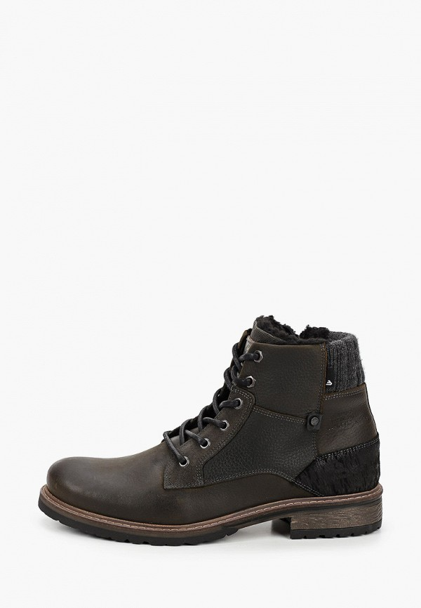 мужские ботинки bullboxer, хаки