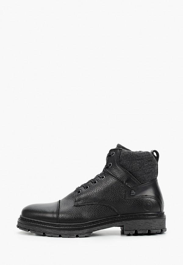 мужские ботинки bullboxer, черные