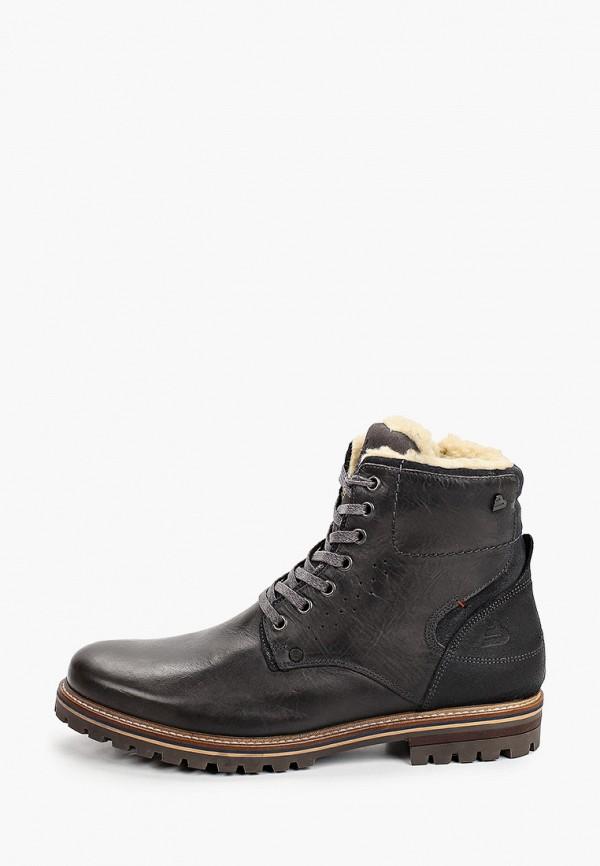 мужские ботинки bullboxer, серые
