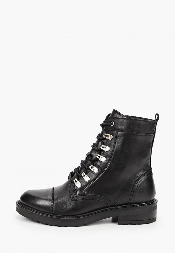 женские ботинки bullboxer, черные