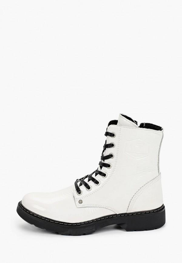женские ботинки bullboxer, белые