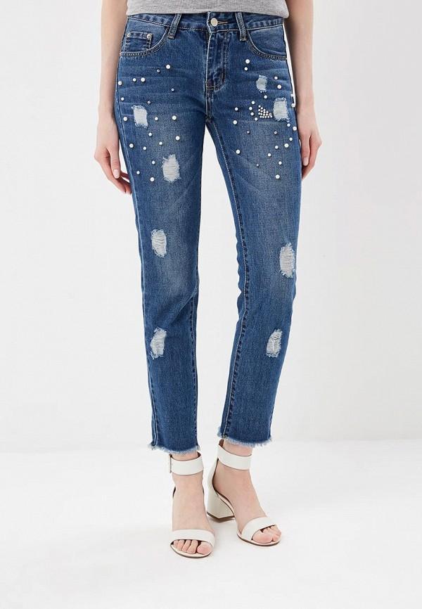 женские джинсы by swan, синие
