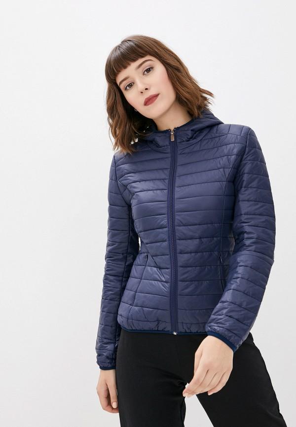 женская куртка by swan, синяя