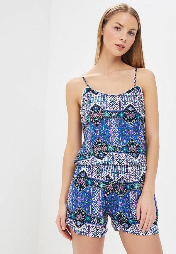 Купить женский комбинезон By Swan синего цвета