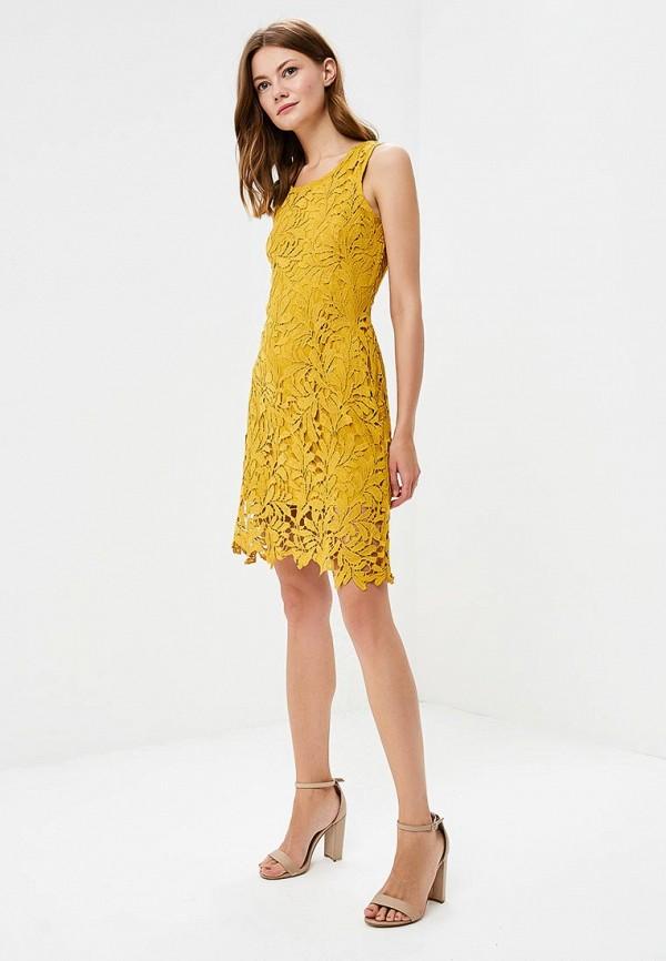 Фото 2 - женское платье By Swan желтого цвета