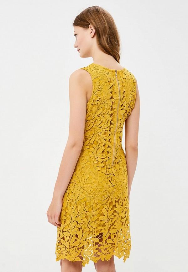 Фото 3 - женское платье By Swan желтого цвета