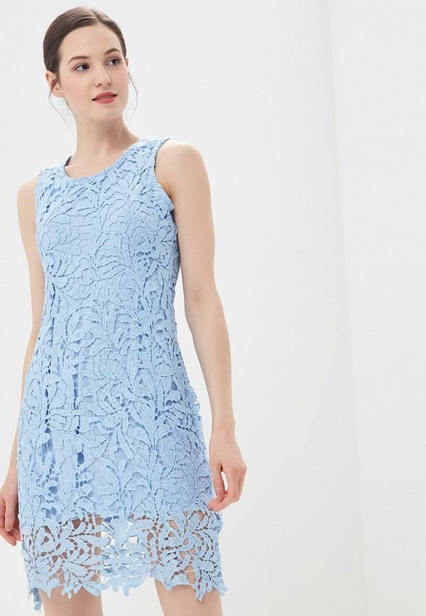 женское вечерние платье by swan, голубое