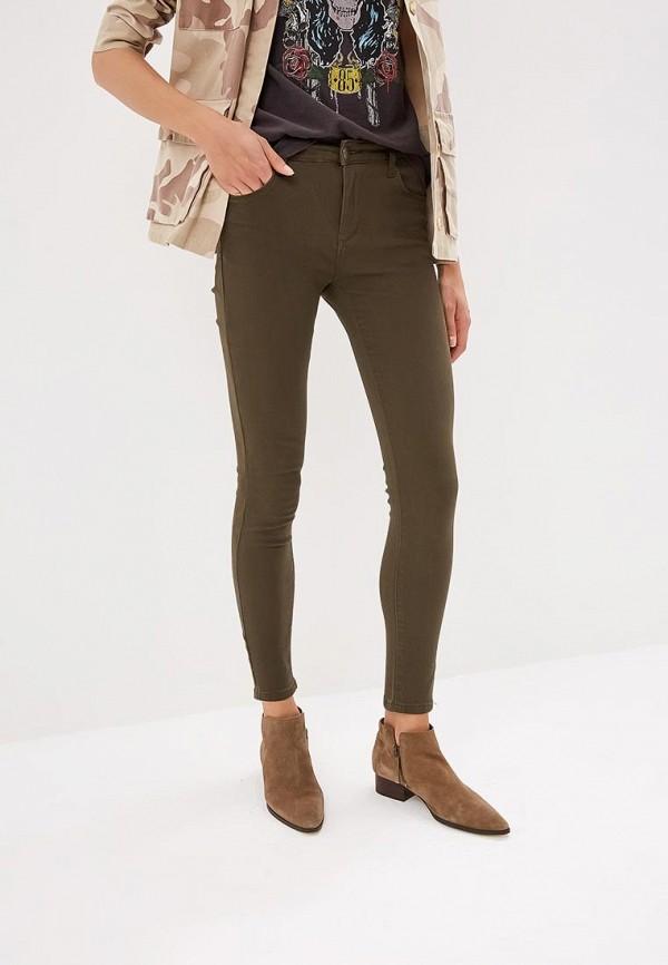женские повседневные брюки by swan, хаки