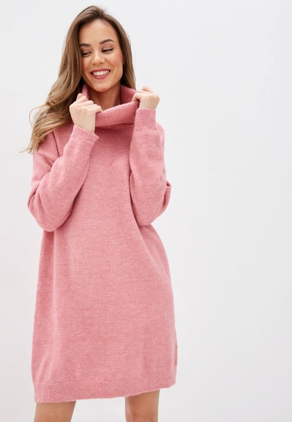женское платье by swan, розовое