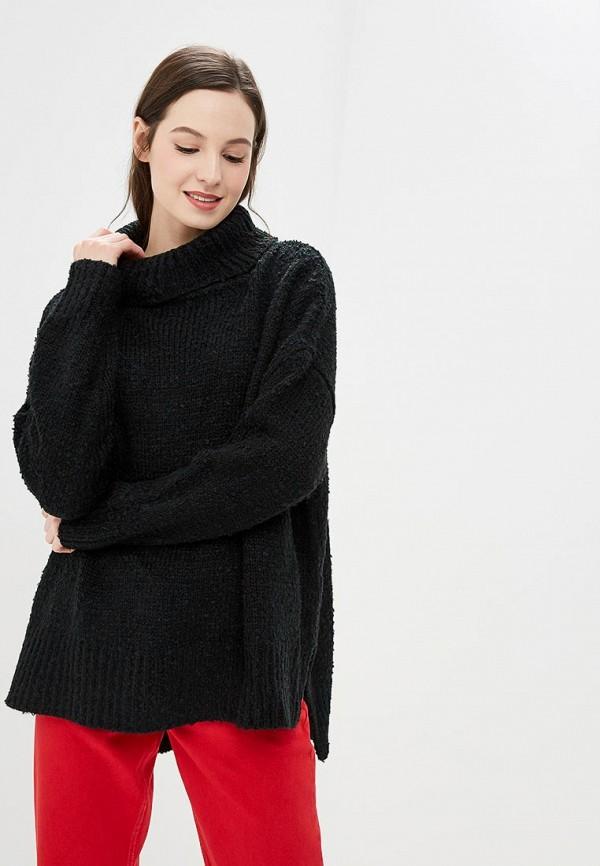 женский свитер by swan, черный