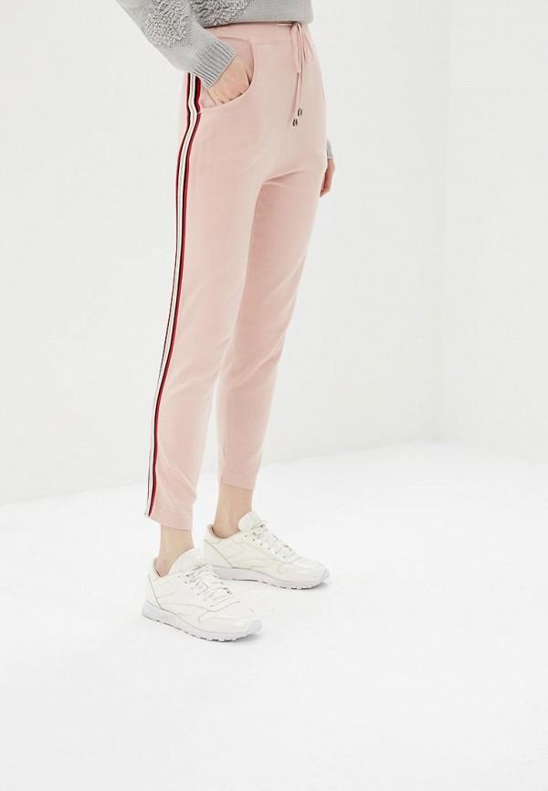 женские повседневные брюки by swan, розовые