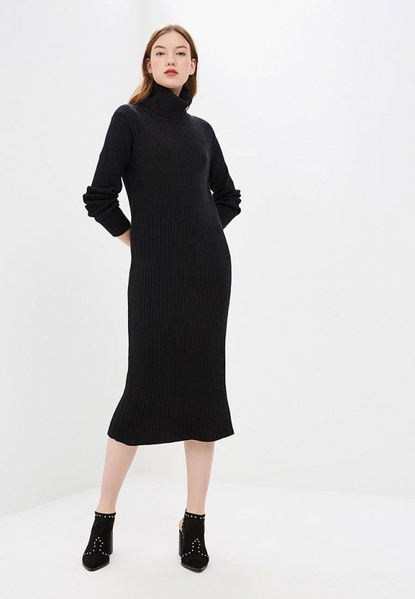 женское платье by swan, черное