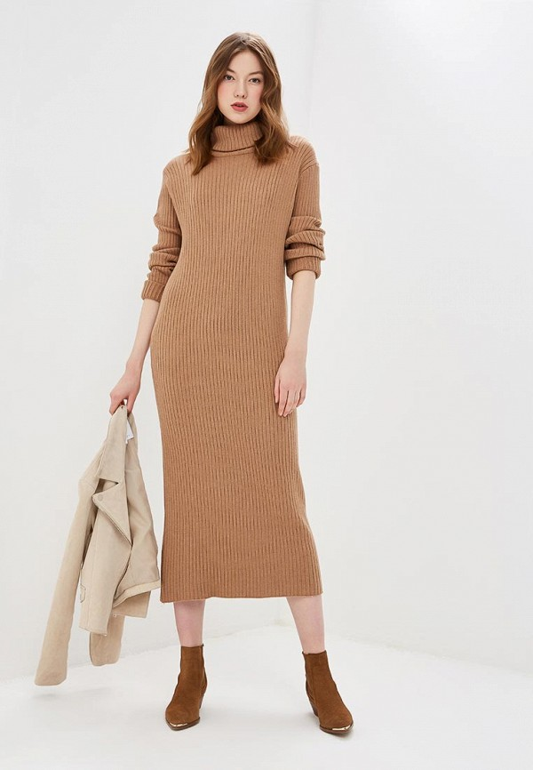 женское платье by swan, бежевое