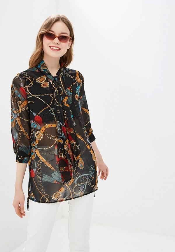женская блузка by swan, черная