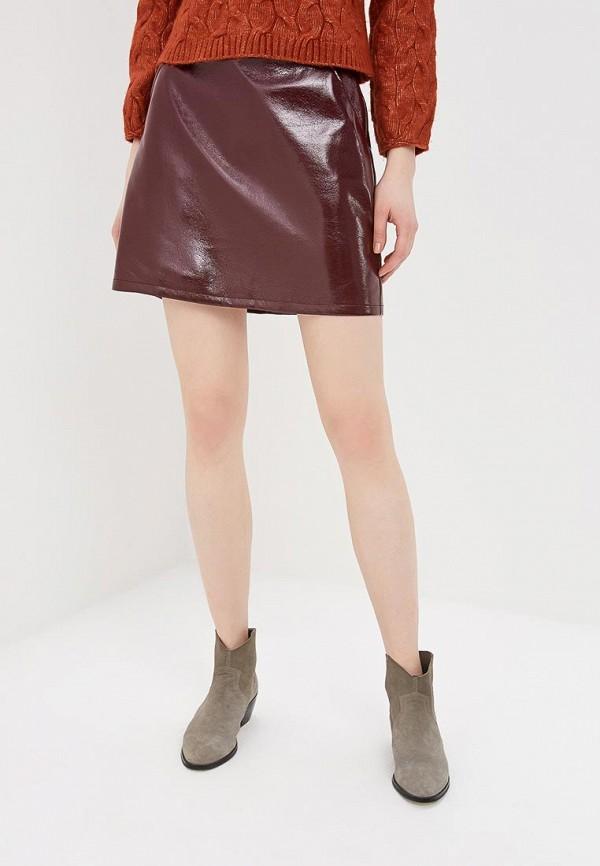 женская юбка by swan, бордовая