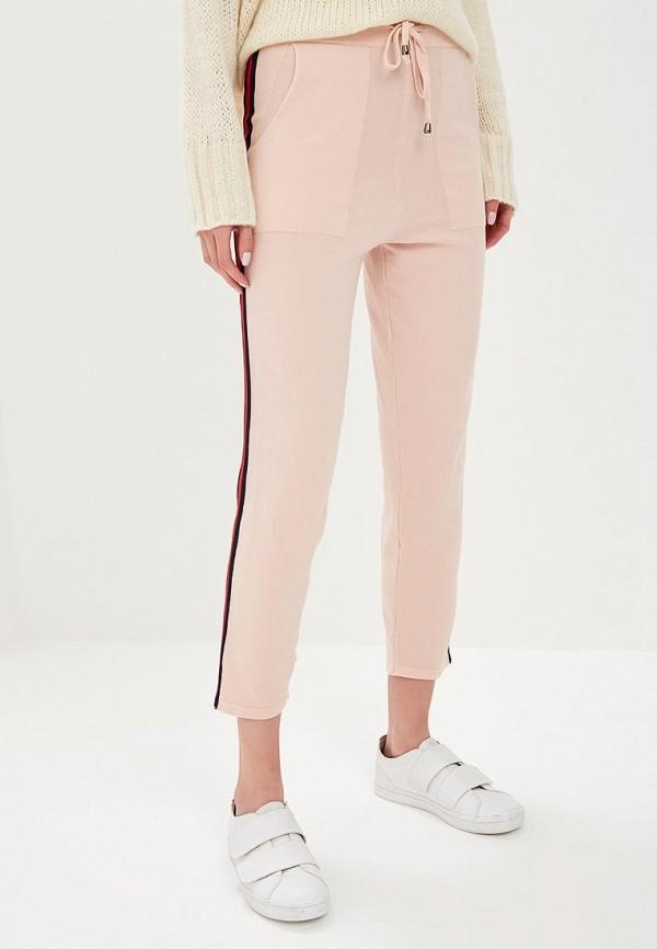 женские спортивные спортивные брюки by swan, розовые