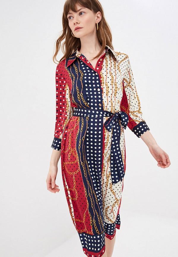 женское платье by swan, разноцветное