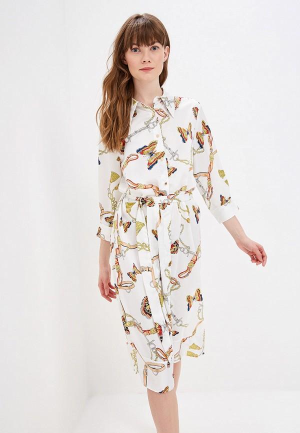 женское платье by swan, белое