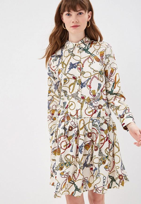 женское повседневные платье by swan, разноцветное