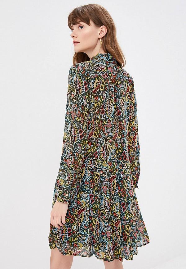 Фото 3 - женское платье By Swan разноцветного цвета