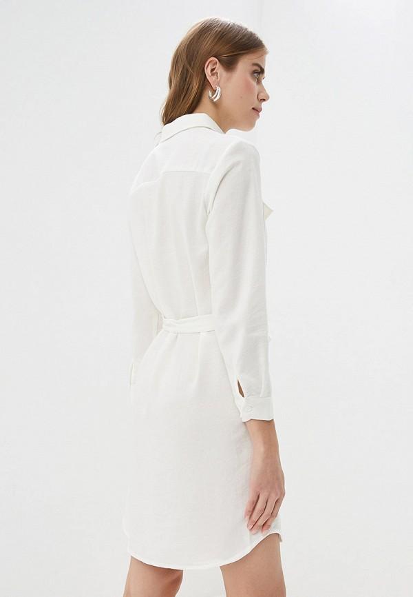 Фото 3 - женское платье By Swan белого цвета