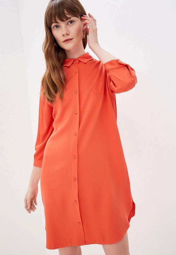Фото - женское платье By Swan оранжевого цвета