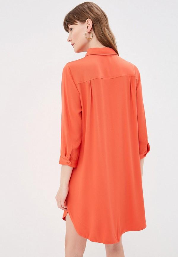 Фото 3 - женское платье By Swan оранжевого цвета