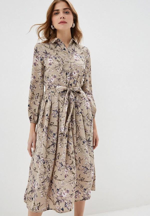 Фото - женское платье By Swan бежевого цвета