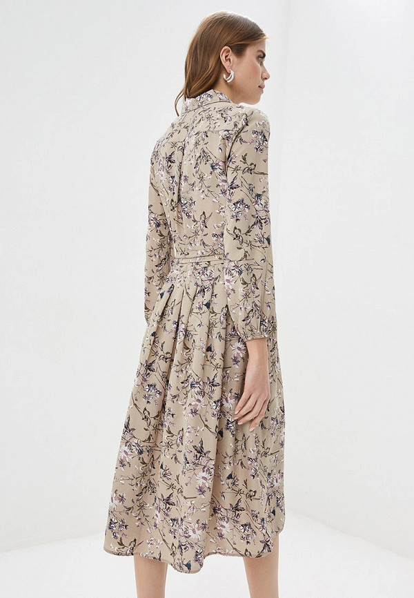 Фото 3 - женское платье By Swan бежевого цвета