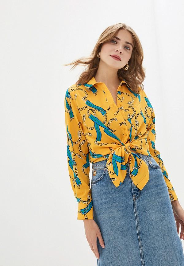 женская блузка by swan, желтая
