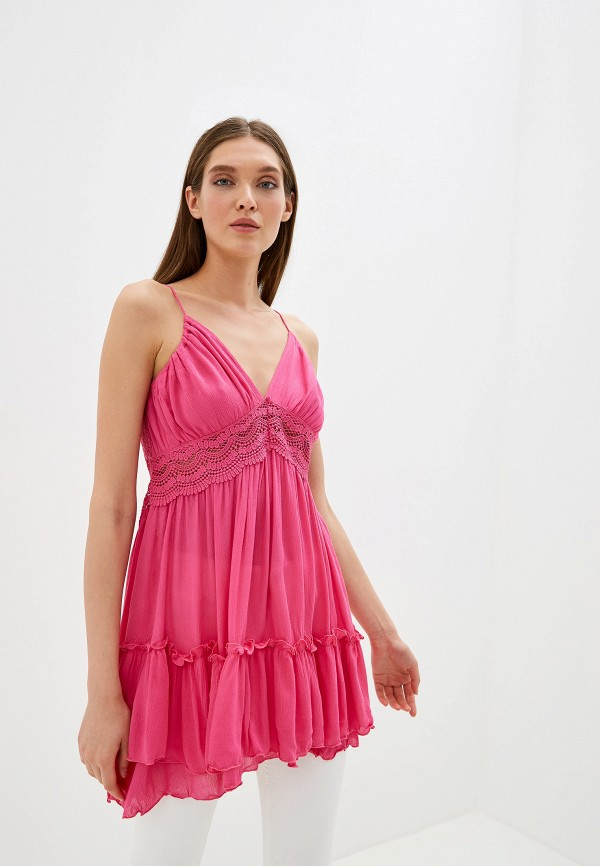 женский топ by swan, розовый
