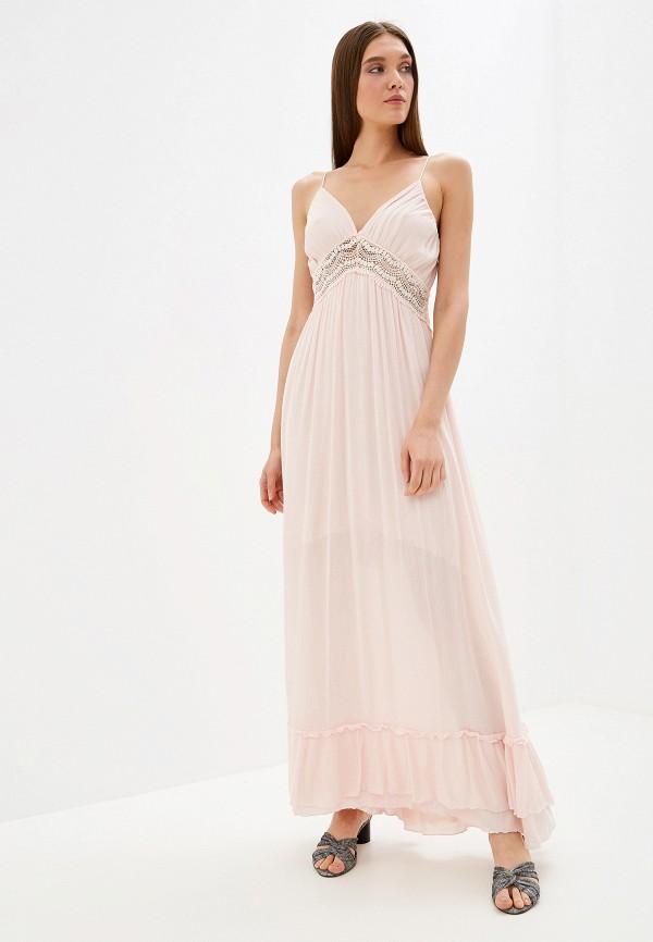 женское повседневные платье by swan, розовое