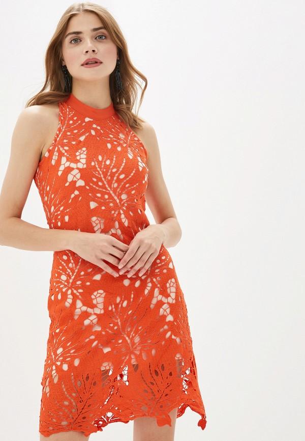 женское вечерние платье by swan, красное
