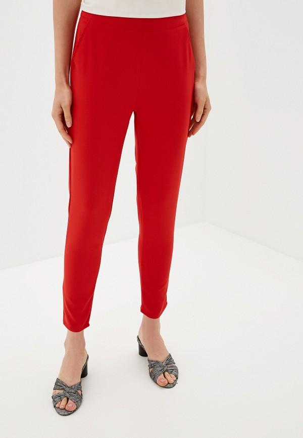 женские повседневные брюки by swan, красные