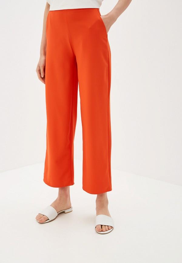 женские повседневные брюки by swan, оранжевые