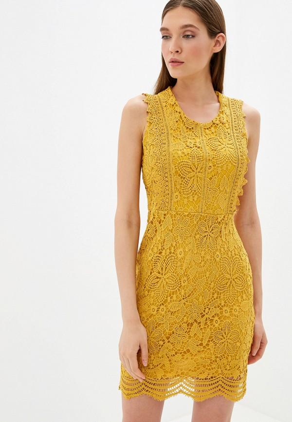 женское вечерние платье by swan, желтое