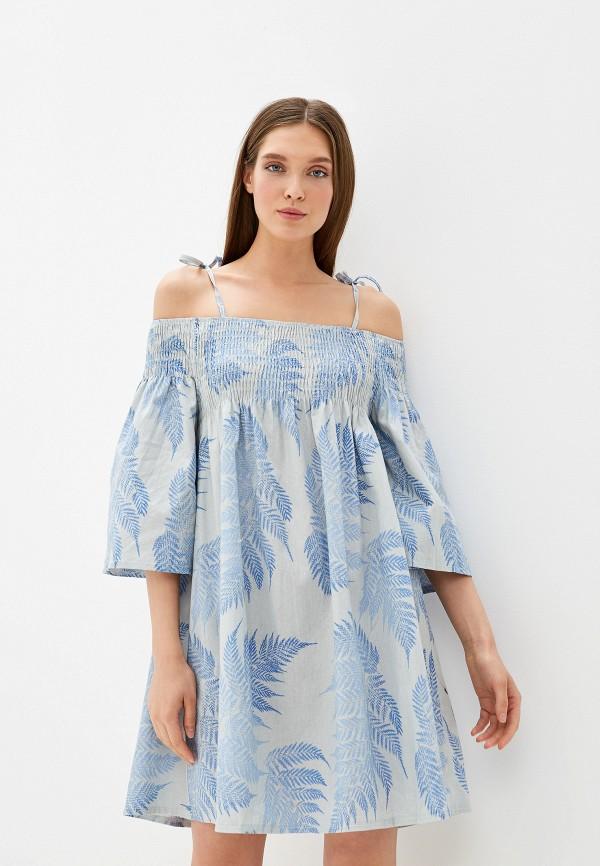 женское платье by swan, серое